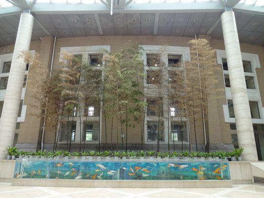 中国銀行大連市分行中庭