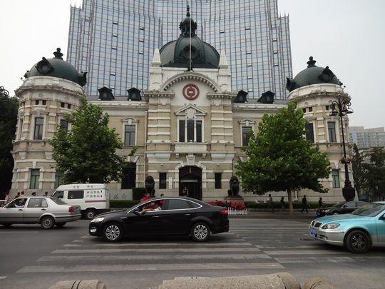 中国銀行大連支店外観