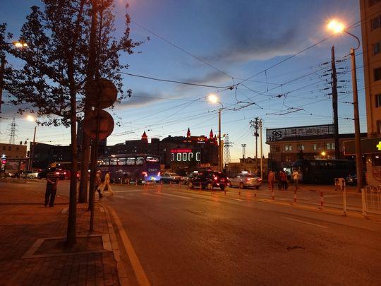 ロシア風情街夜景